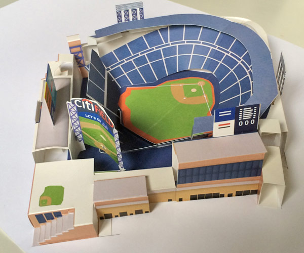 how to draw a baseball stadium