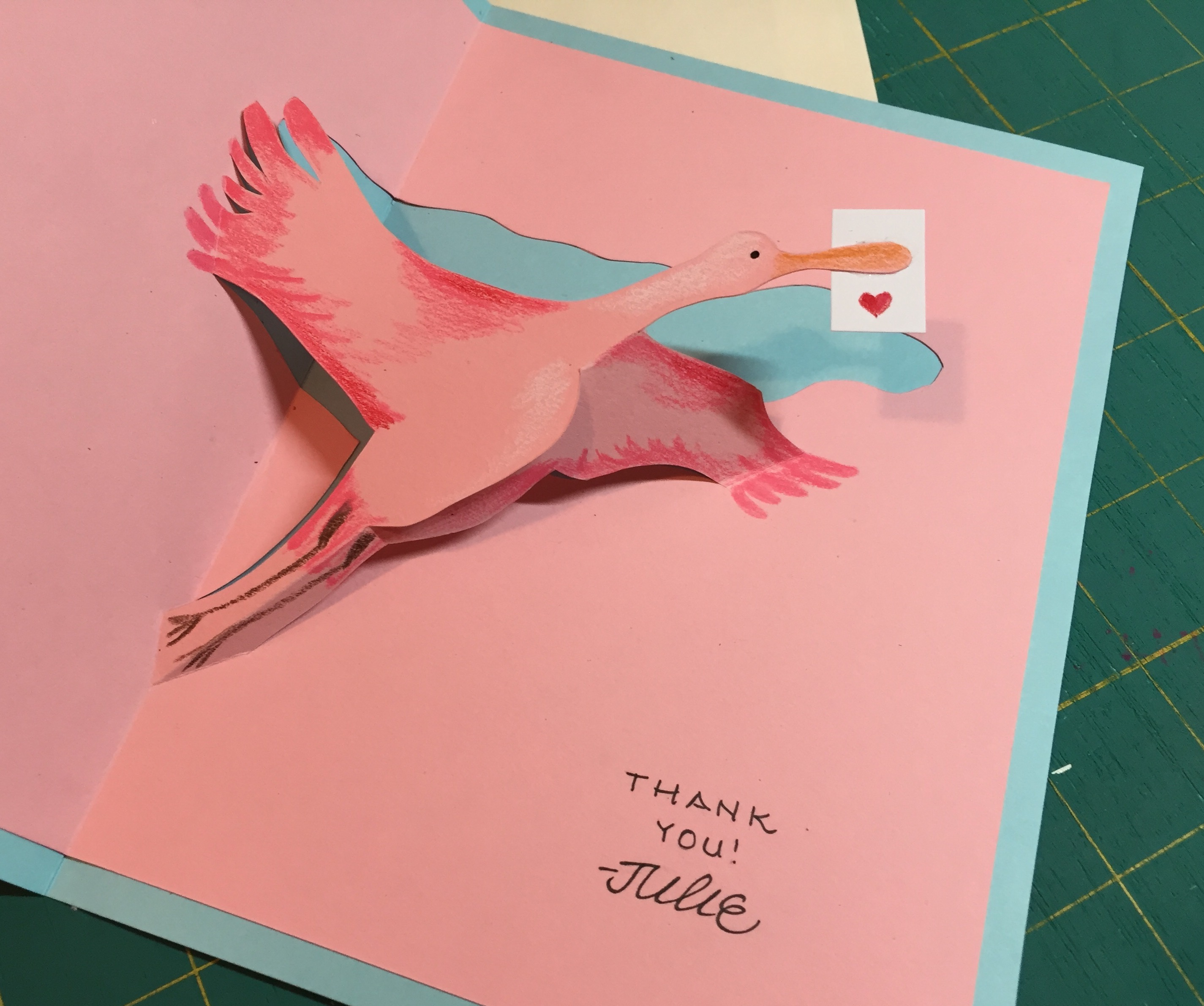 The crane sends thanks!