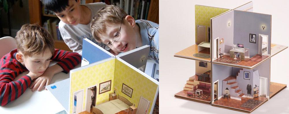 Make Pop Up Cards Pop Up Paper House Amp Paper Toys
