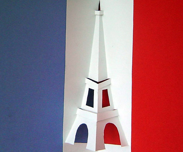 how to make your own eiffel tower