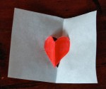 Easy valentine heart