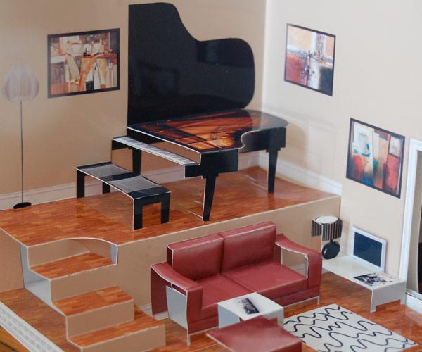 Arbeitsplatz Im Wohnzimmer Einrichten Ikea Gestalte Dir: Pop-Up Paper House History