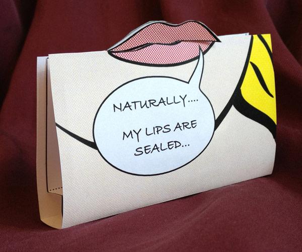 Pop Art Lip Balm Packaging And DIY Recipes
