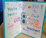 gr8 teacher card