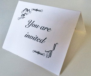 shopping-invitation