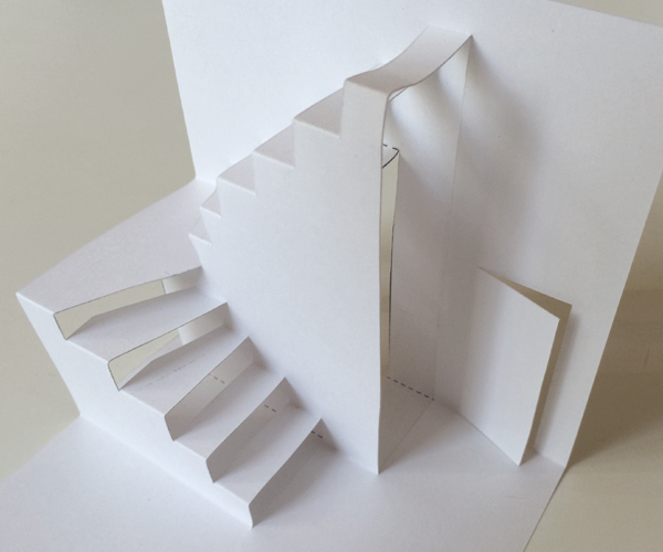 blank stairs