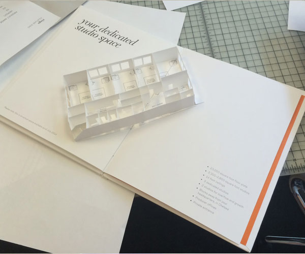 custom pop-up design