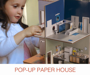 Pop-up-Paper-House