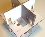 Structure for Pop-up Paper House