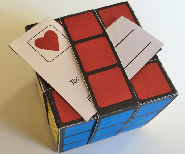 printable easy paper rubik u0026 39 s cube diy template to download