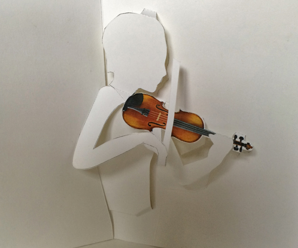 violinist-violin-pop-up-card