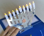 LED Menorah