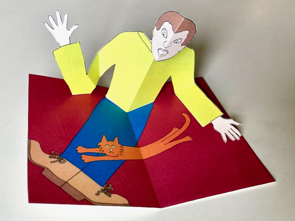 Duncan Birmingham Man and cat