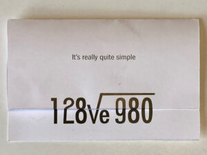 simple valentine math equation