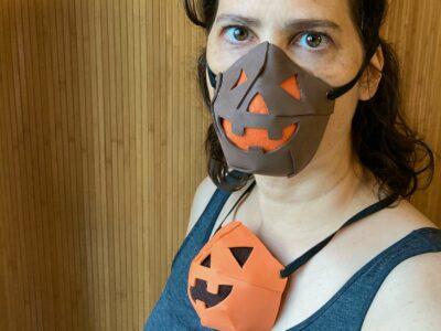 Jack O'Lantern face mask